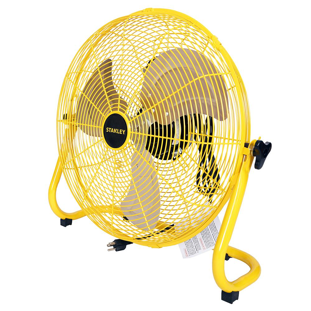 Stanley High Velocity 20 in. 3-Speed Floor Fan