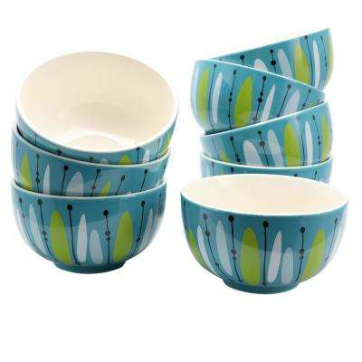 Nordic Cool Anza Blue Bowl (Set of 8)