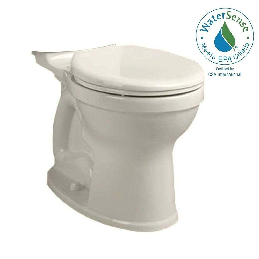 Champion 4 High Efficiency Tall Height Round Toilet Bowl Only in