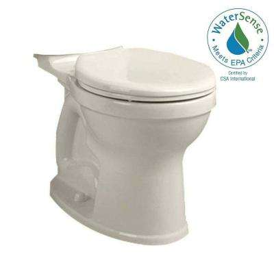 Champion 4 High Efficiency Tall Height Round Toilet Bowl Only in Linen