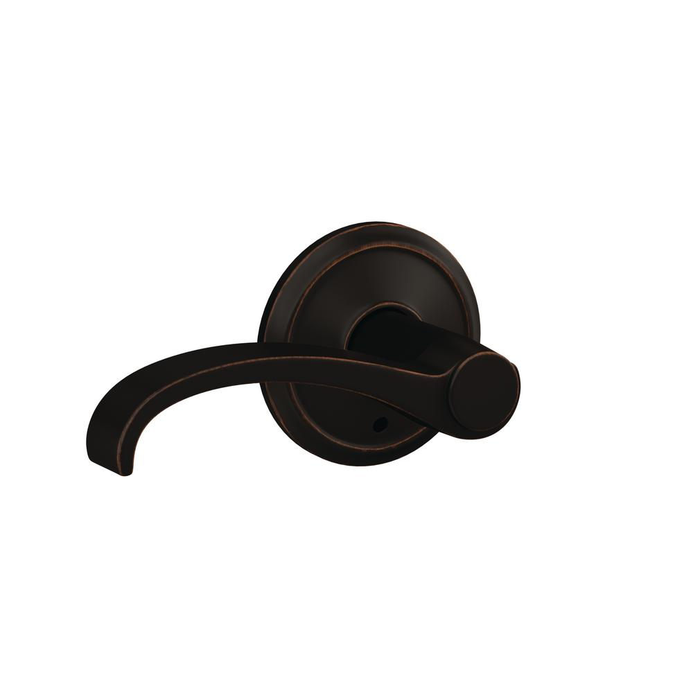 Schlage Custom Whitney Aged Bronze Alden Trim Combined