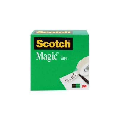 Scotch 3/4 in. x 72 yds. Boxed Magic Tape (Case of 48)