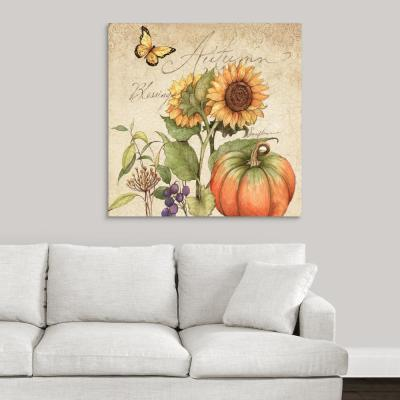 """""""Autumn Blessings"""" by Susan Winget Canvas Wall Art"""