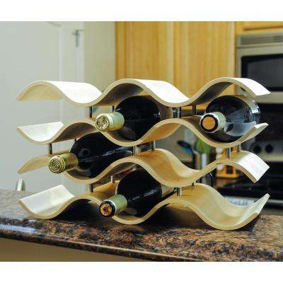 Bali 10-Bottle Natural Wine Rack