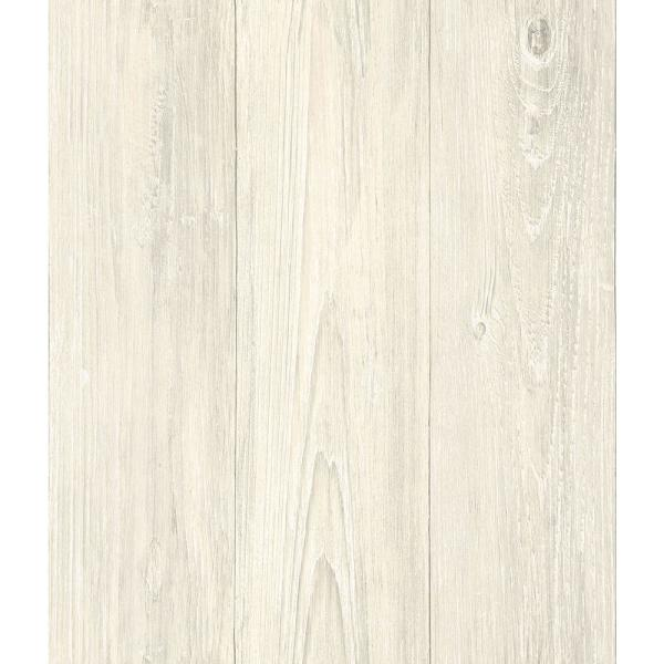 56 4 sq  ft  Mapleton Cream Shiplap Wallpaper