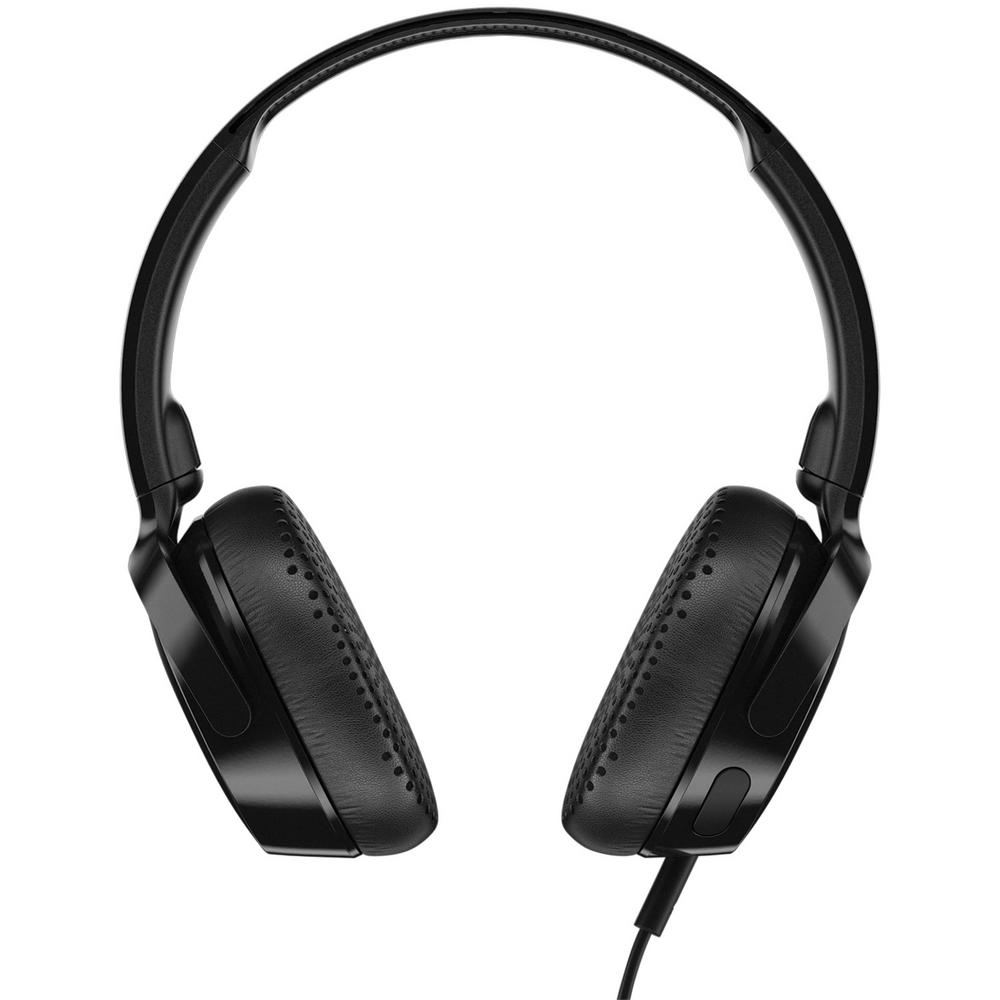 Riff On-Ear Wired Headphones with Microphone in Black Riff On-Ear Wired Headphones with Microphone in Black