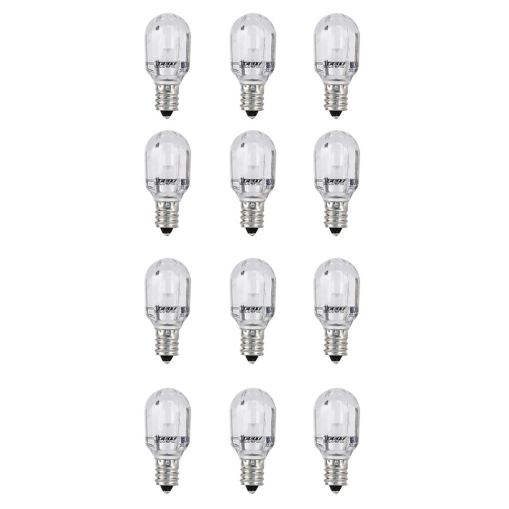 Feit Electric 15w Equivalent Warm White 3000k T6 Candelabra Led Picture Frame Indicator