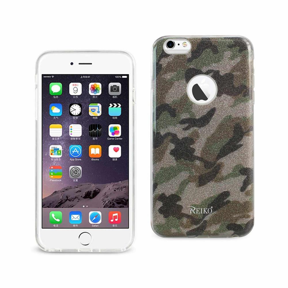Reiko Iphone 6 Plus6s Plus Design Case In Army Purple Dtpu02