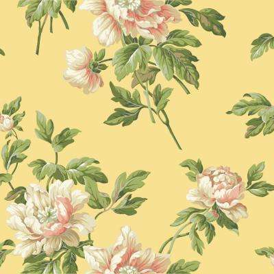 Casabella II Document Floral Wallpaper