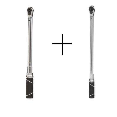 3/8 in. and 1/2 in. Drive Torque Wrench Set (2-Piece)