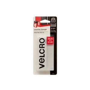 VELCRO Brand 4 inch x 2 inch Industrial Strength Strips (2-Pack) by VELCRO Brand