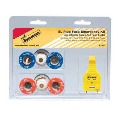 SL Style Plug Fuse Emergency Kit