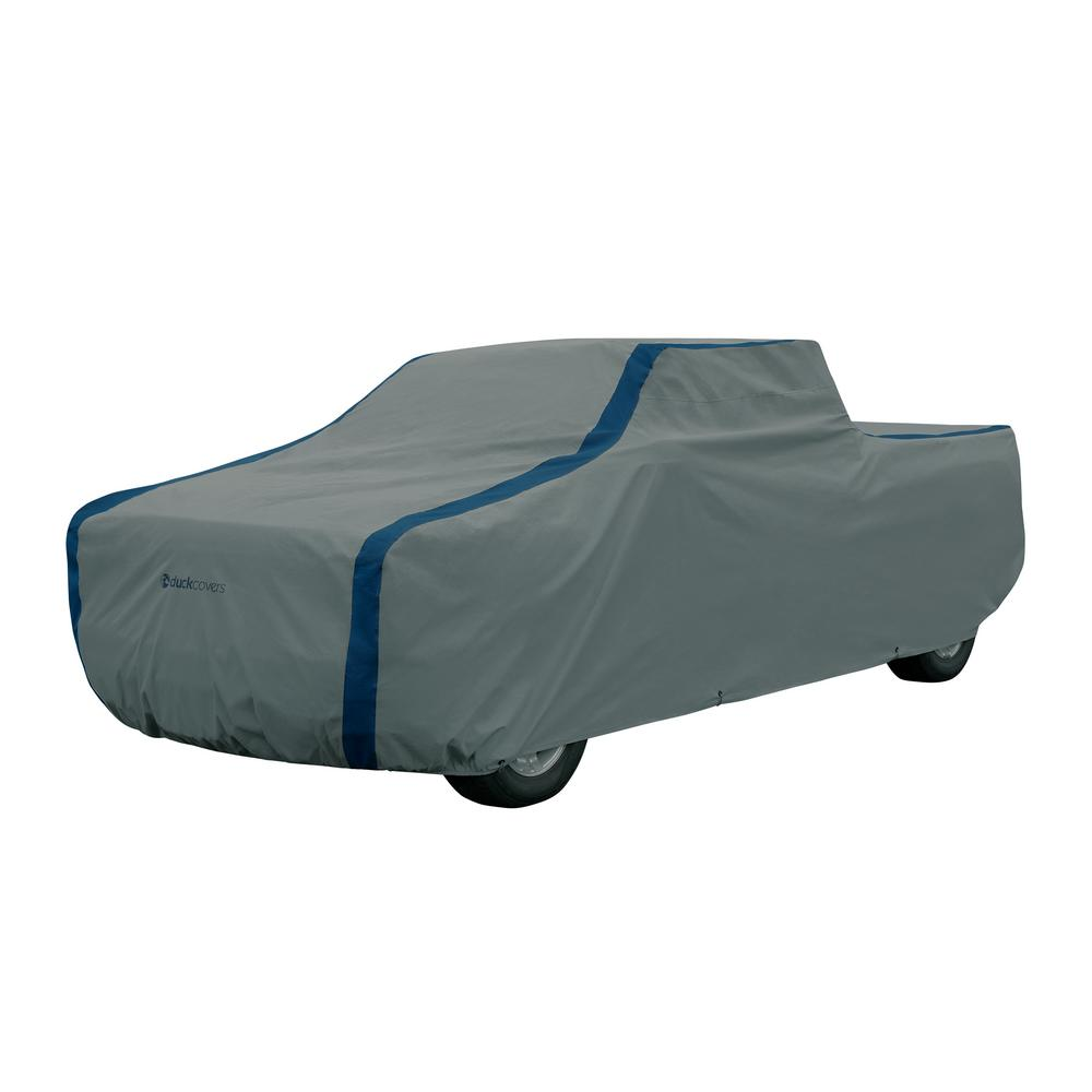 Duck Covers Weather Defender 262 In L X 78 In W X 72 In H Truck Cover With Stormflow A3cmt264 The Home Depot