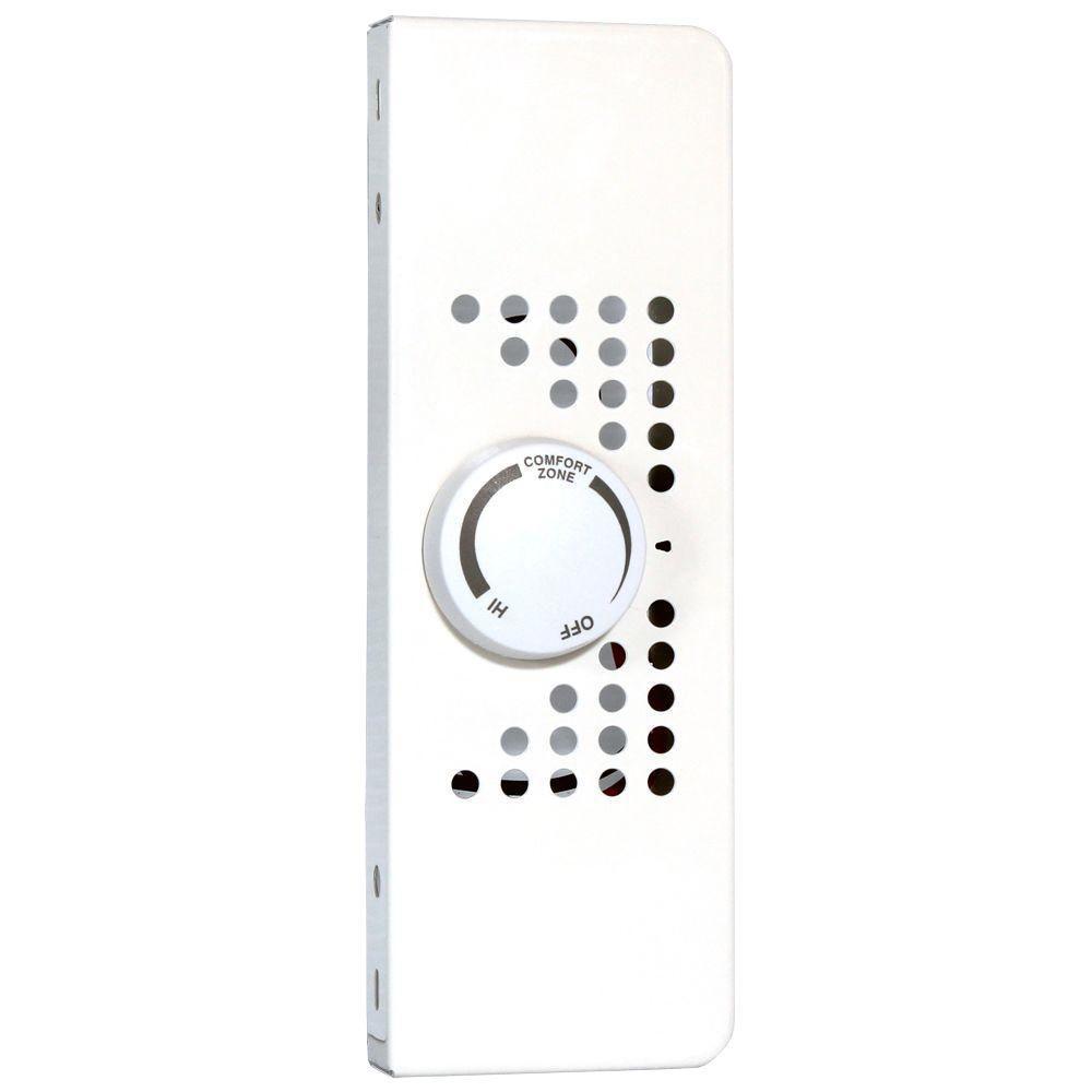 SoftHeat EBKN Series Double-Pole Integral 22 Amp End Cap Thermostat Kit in White