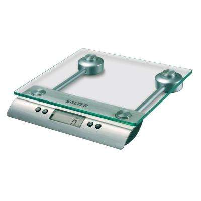 Digital Aquatronic Kitchen Scale in Clear Glass