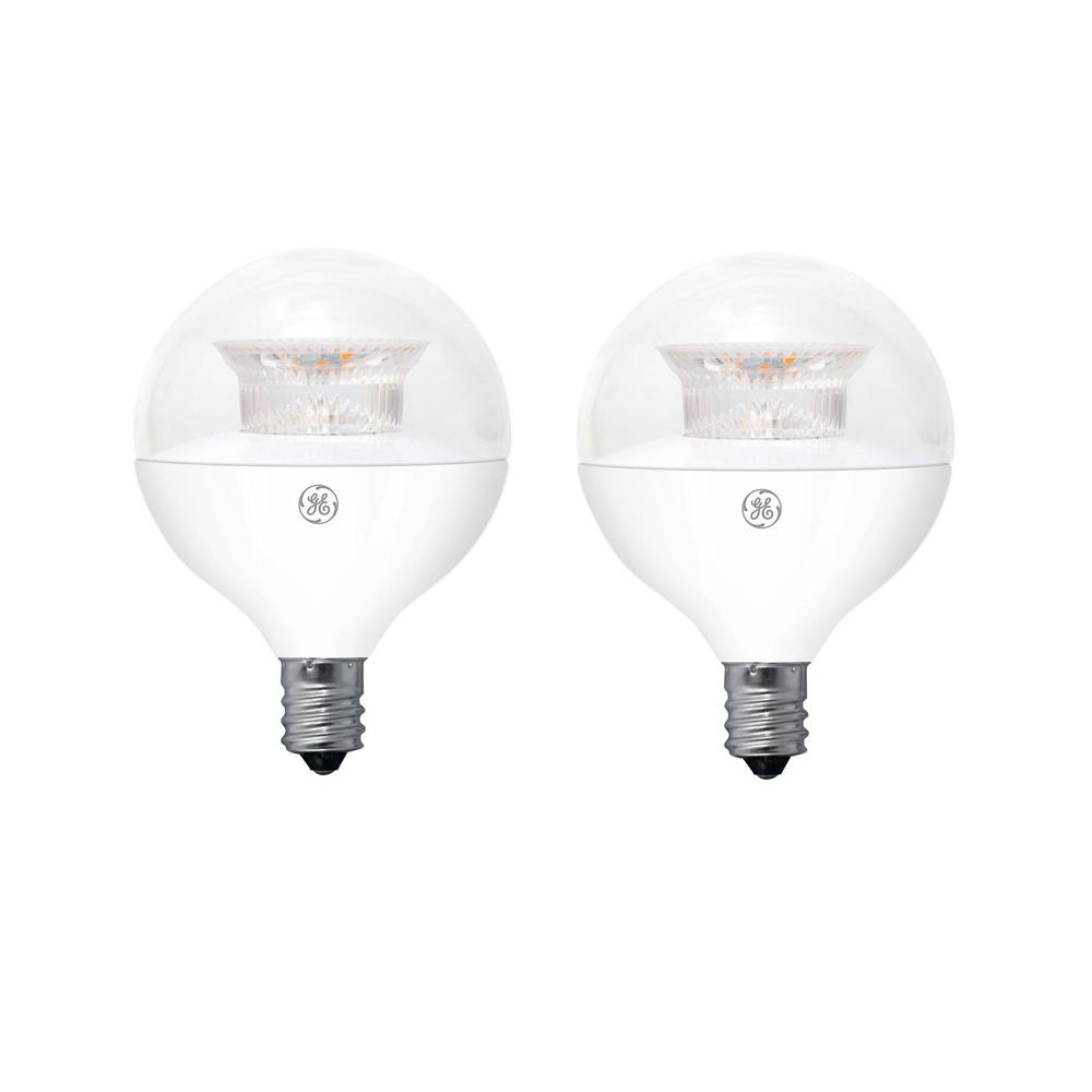 Bulbrite 40w Equivalent Warm White Light G16 Dimmable Led: GE 40W Equivalent Soft White (2700K) High Definition G16.5