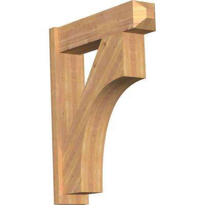 8 in. x 38 in. x 30 in. Westlake Craftsman Smooth Western Red Cedar Outlooker