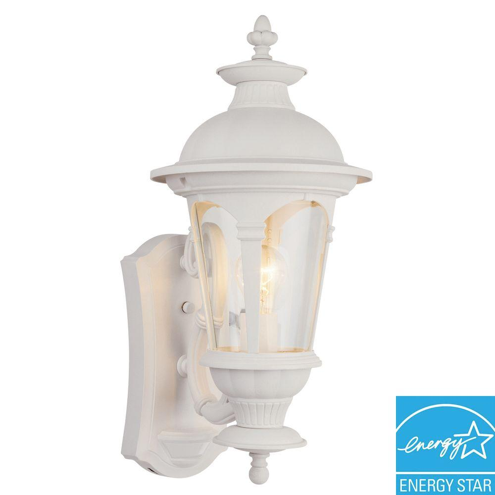 Hampton Bay Renaissance 180-Degree Outdoor Motion-Sensing Security Lamp-DISCONTINUED