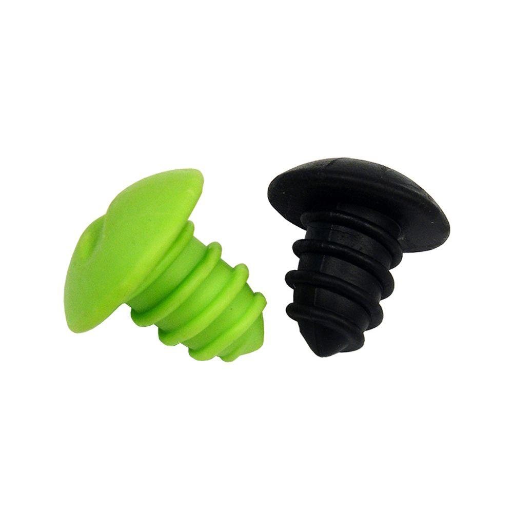 Wine Screw Bottle Stoppers (Set of 2)