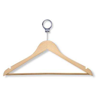 Maple Hotel Suit Hangers (24-Pack)