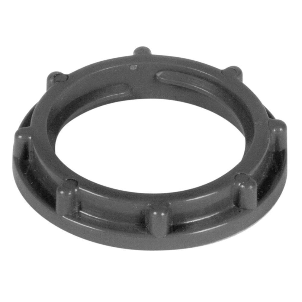 1/2 in. PVC Locknut (5 per Bag/20 Bags per Case)