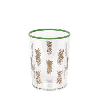 16.8 oz. Tropical Gold Accents Pineapple Dof (Set of 6)