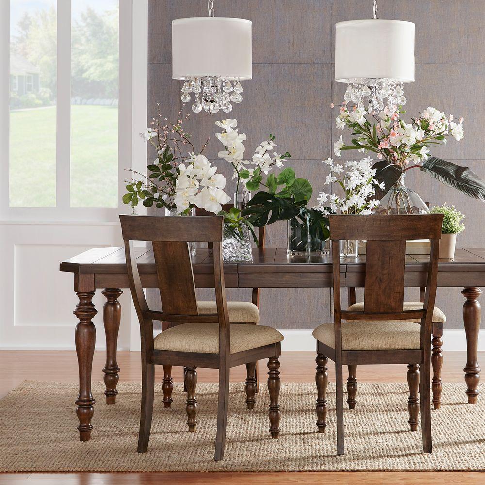Hewitt Chestnut Extendable Dining Table