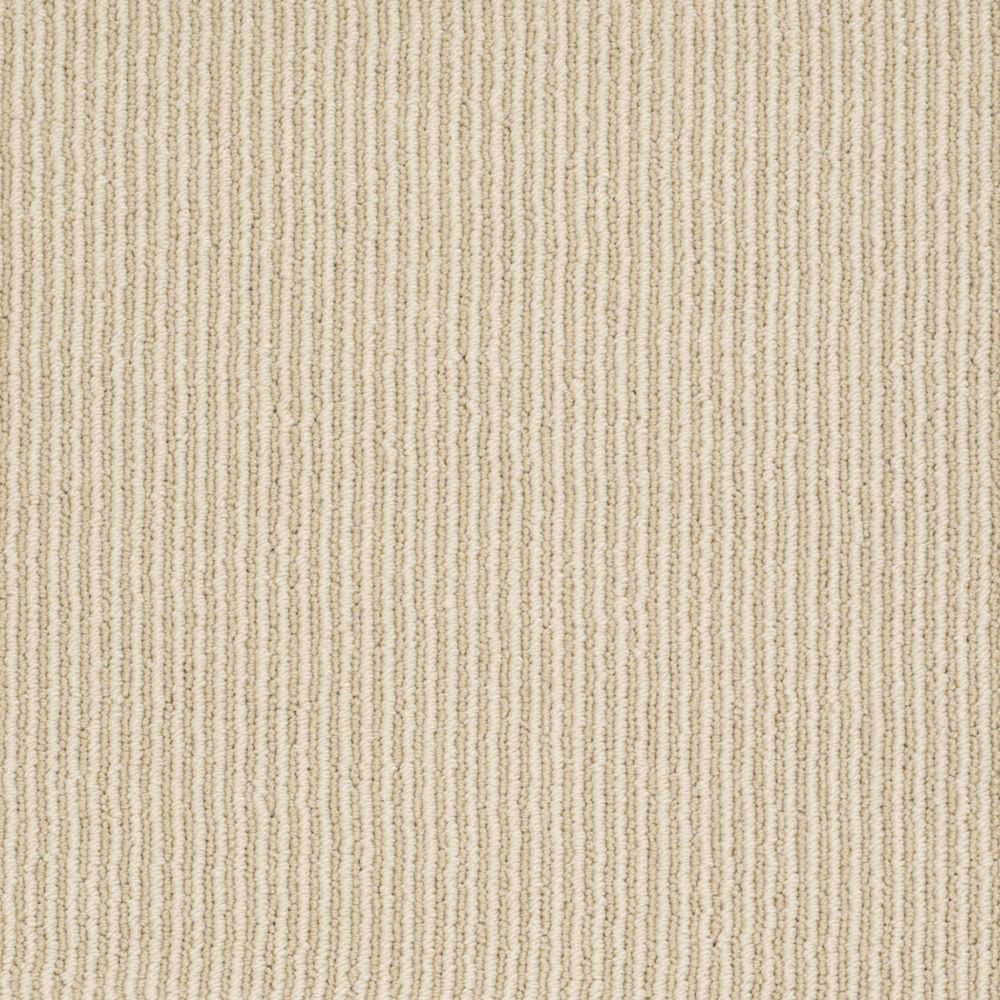 Martha Stewart Living Statford Heights - Color Buckwheat Flour 6 in. x 9 in. Take Home Carpet Sample