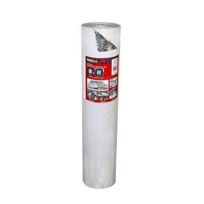 4 ft. x 100 ft. Single Reflective Insulation Roll with Single Air