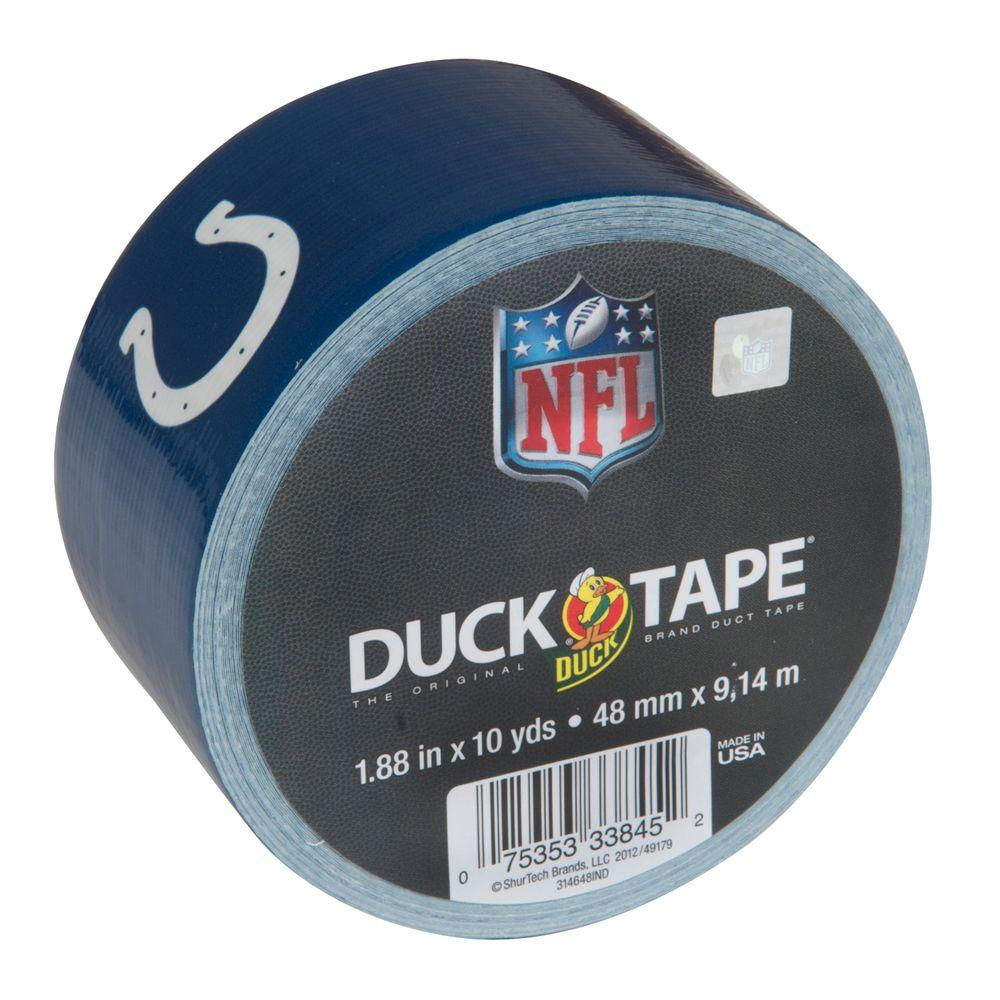 1.88 in. x 10 yds. Colts Duct Tape (18-Pack)