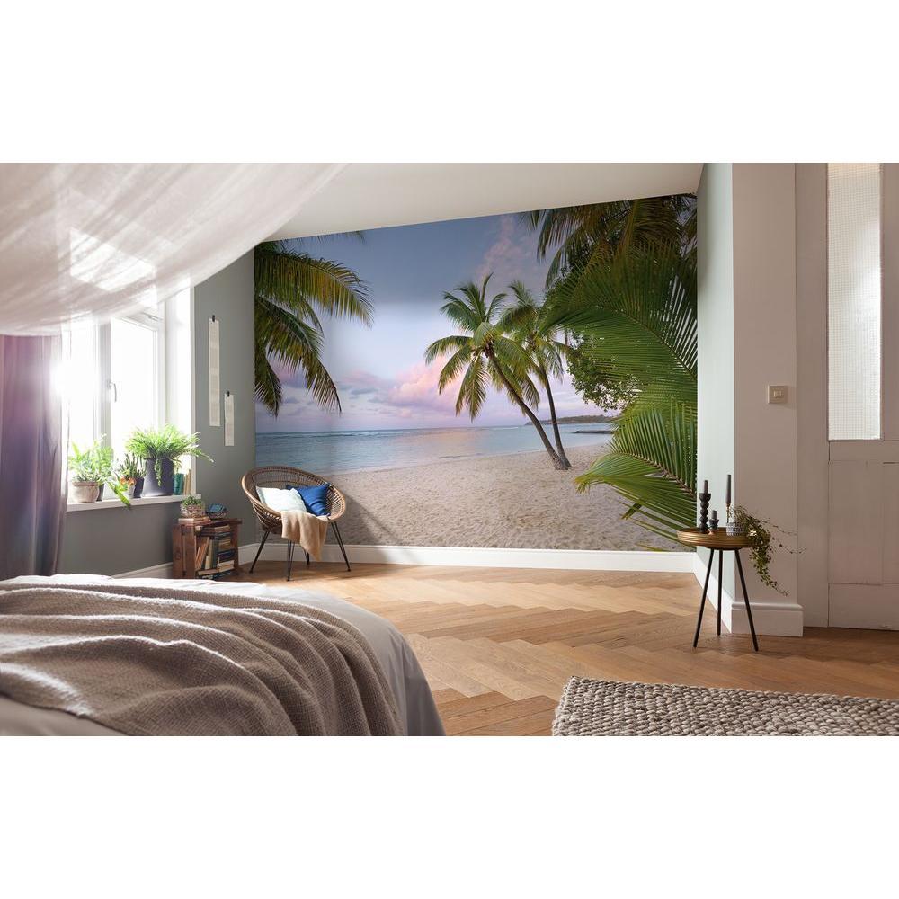 Komar 145 in. H x 98 in. W Paradise Morning Wall