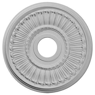 16 in. x 3-5/8 in. I.D. x 3/4 in. Melonie Urethane Ceiling Medallion (Fits Canopies upto 6-3/8 in.)