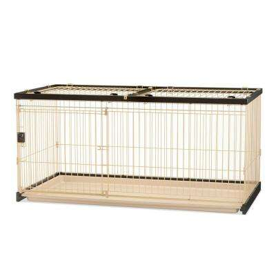 Large Easy-Clean Pet Crate