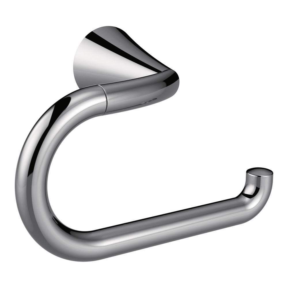 Moen Glyde Single Post Toilet Paper Holder In Chrome Yb2308ch The Home Depot