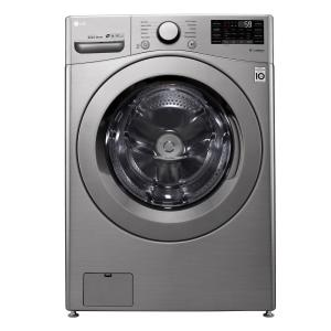 LG Electronics 4.5 cu. ft. Graphite Steel Ultra Large Smart Front Load Washer with ColdWash, 6Motion and TrueBalance-WM3460CV - The Home Depot