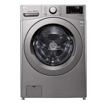 4.5 cu.ft. Graphite Steel Front Load Washer with Coldwash Technology and Wi-Fi Connectivity
