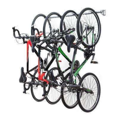 outdoor space ceiling wooden diy for racks rack in ideas bike bikes storage wall garage plastic saving hooks bicycle
