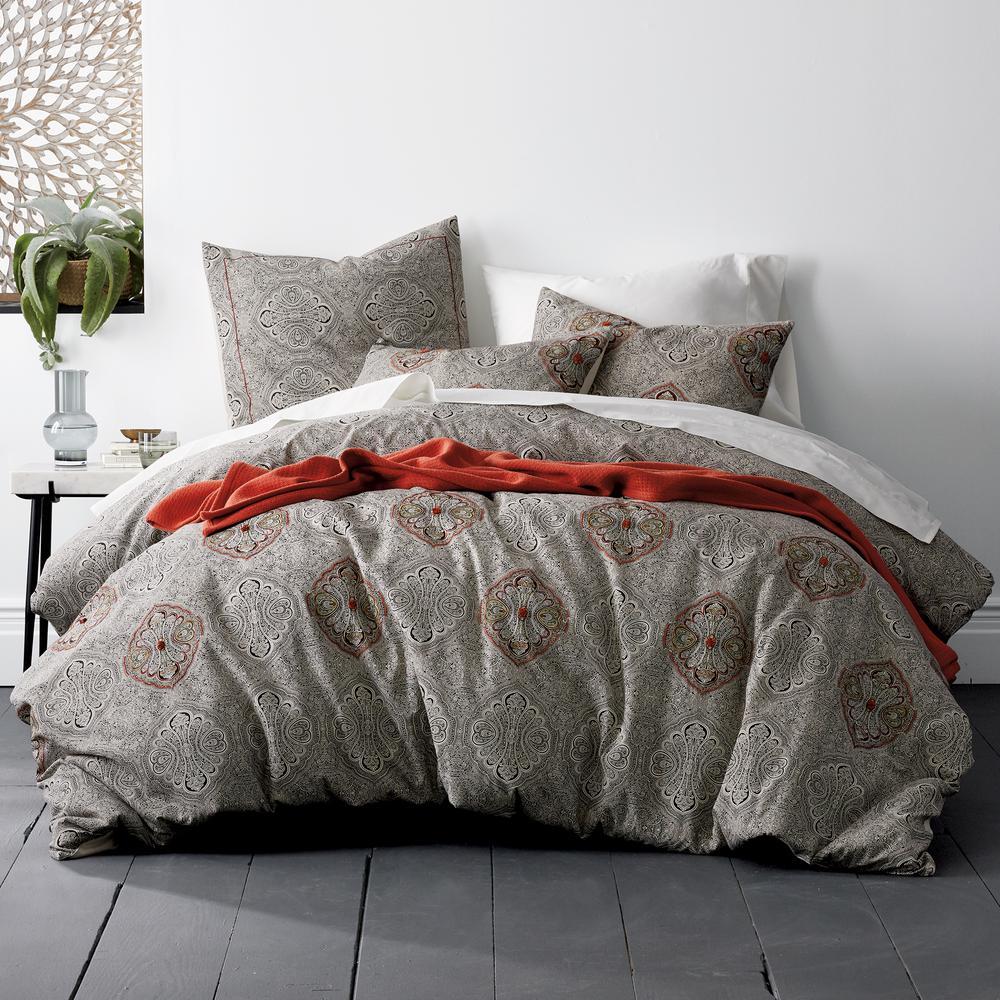 The Company Store Margate Cotton Blend Queen Duvet Cover 50408D-Q-MULTI