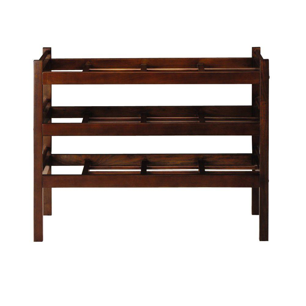 Martha Stewart Living Solutions Sequoia 33 in. W Boot Rack