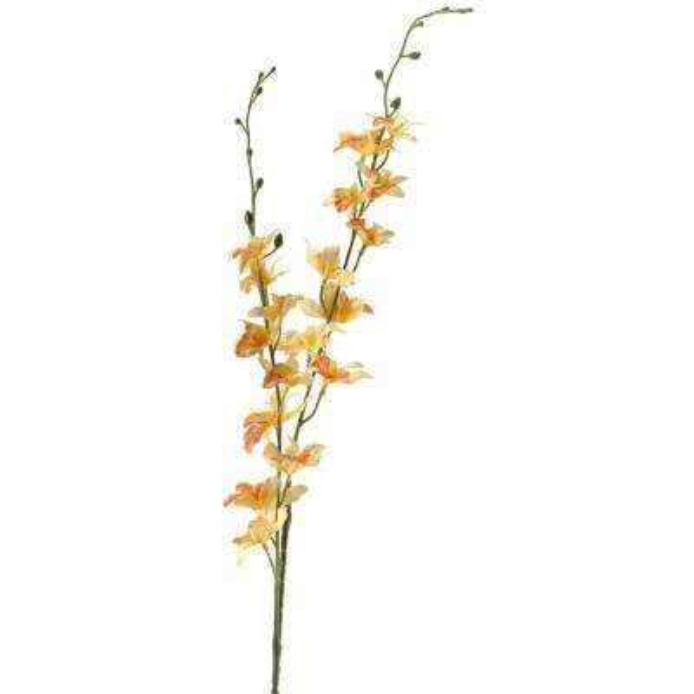 Indoor 39.4 in. Gold Dancing Orchid (Set of 3)