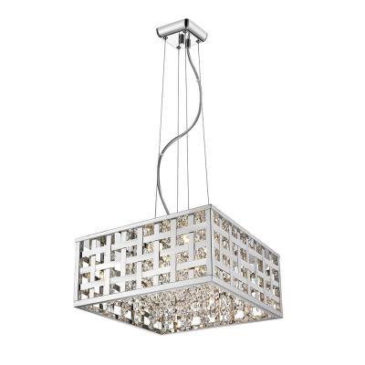 Logan Collection 4-Light Chrome Pendant