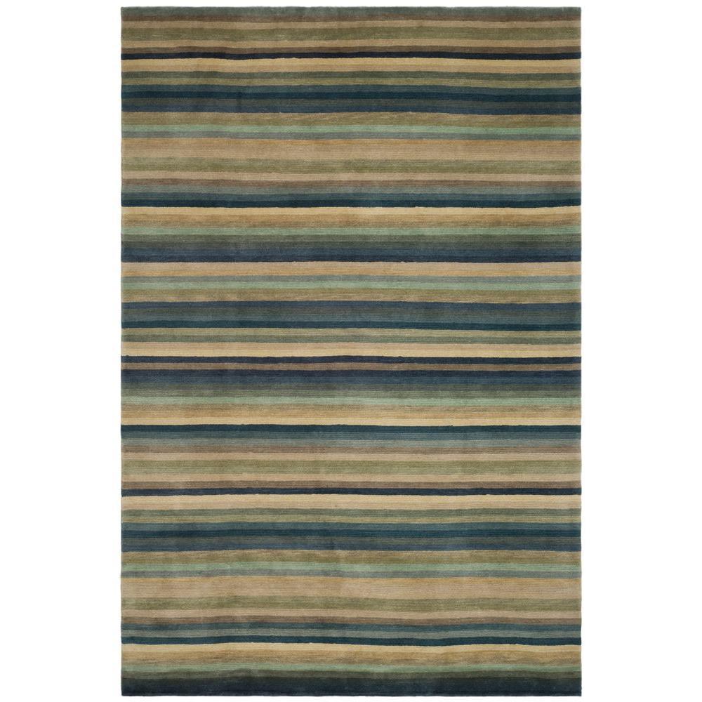 Safavieh Tibetan Blue/Grey 5 ft. x 7 ft. 6 in. Area Rug