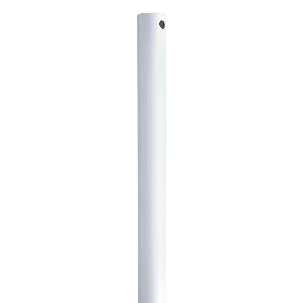Progress Lighting AirPro 72 in. White Extension Downrod