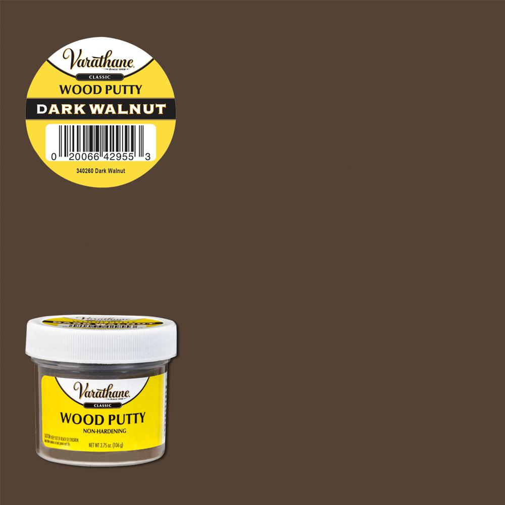 Varathane 3.75 oz. Dark Walnut Wood Putty (6-Pack)