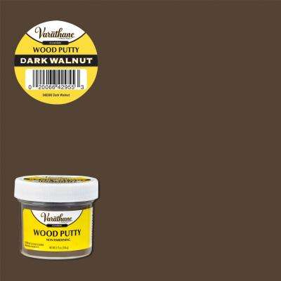 3.75 oz. Dark Walnut Wood Putty (6-Pack)