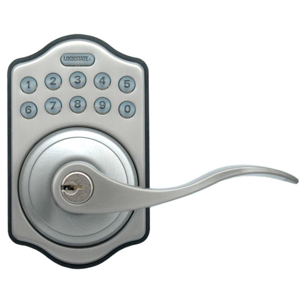 LockState Electronic Keypad Door Lever Door Lock