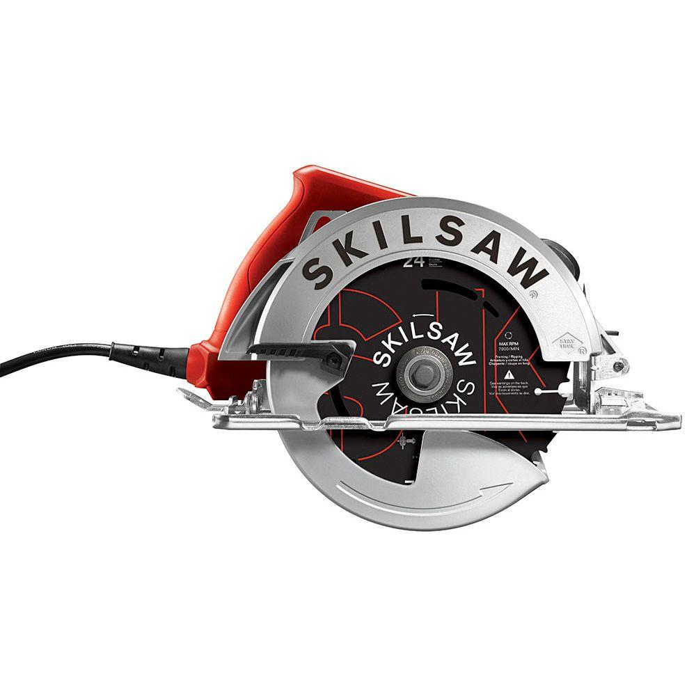 Skilsaw 15 amp corded electric 7 14 in circular saw with 24 tooth skilsaw 15 amp corded electric 7 14 in circular saw with 24 greentooth Image collections