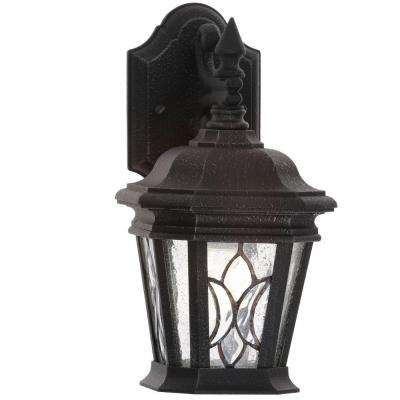 Cranbrook Collection 6.4375 Inch Gilded Iron 1-Light Outdoor Wall Lantern