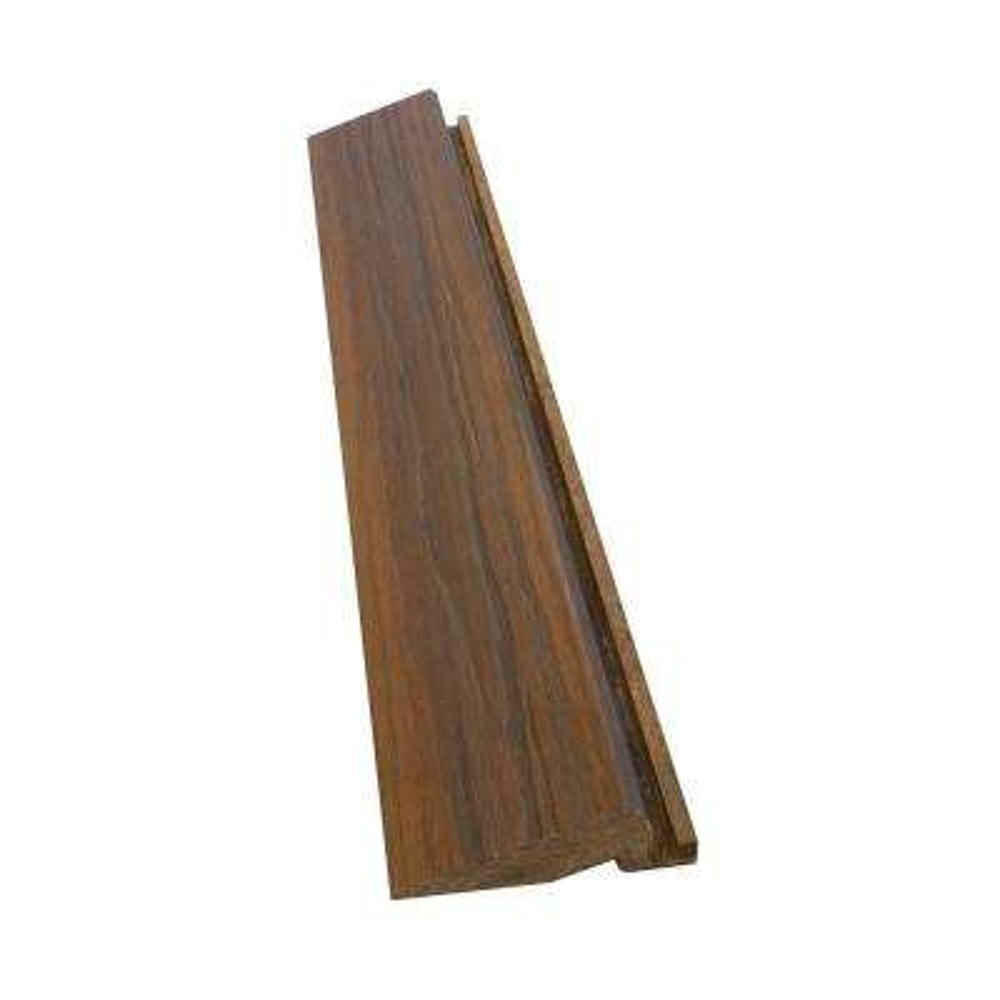 0.75 in x 3.75 in. x 24 in. Deck Tile Transition Piece in Walnut (4 per Box)