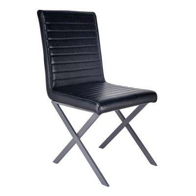 Malek Black Dining Chair (Set of 2)